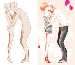 kiss base by xxsassychizzxx