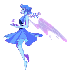 Lapis Lazuli [commission] by nebulaeye