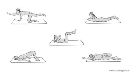 Commission - Fitness Illustrations by mactal