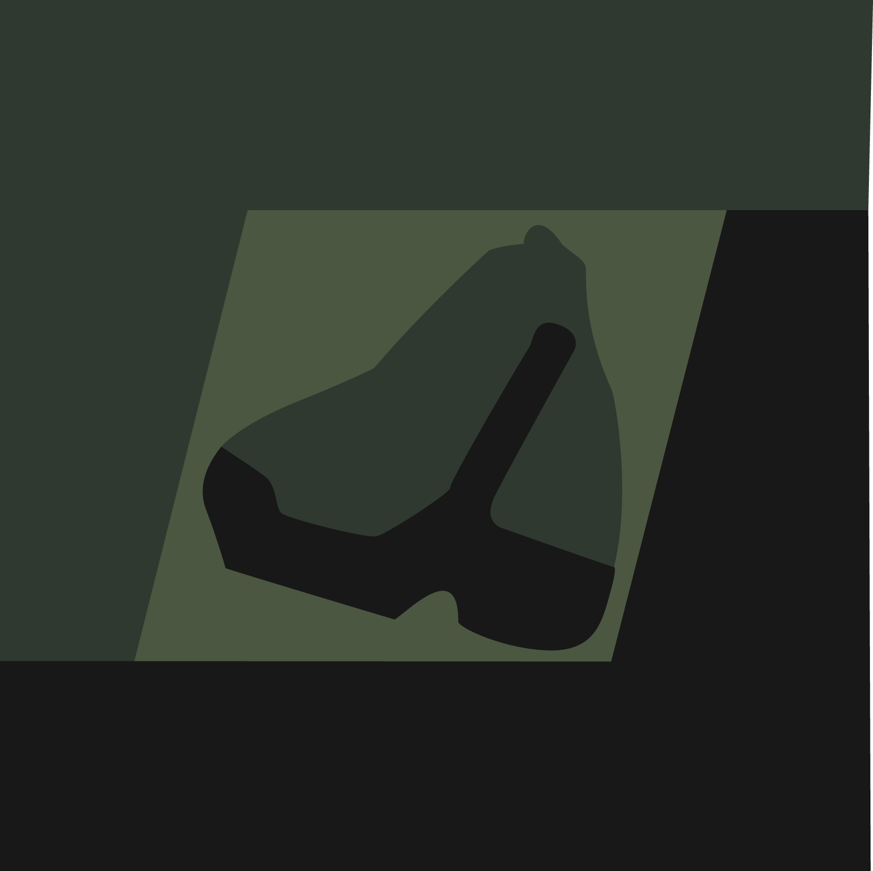 Tbonian Flag, Subdued Colour by JVanover