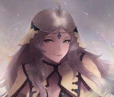Fire Emblem - The Dramatic Heroine, Ophelia by leonmandala