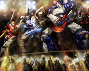 Transformers ROCK by Dream-Echo