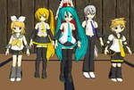 All the Chibis + DL Link in Description by MMDTeto13