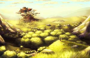 Legend of Zelda Breath of the Wild (Speedpaint) by ghostchiryou