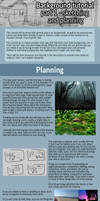 Background Tutorial Part 1, Sketching and Planning by ghostchiryou