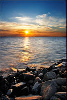Rocks and the Sea by jjuuhhaa