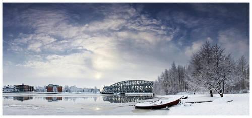 Oulujoki panorama by jjuuhhaa