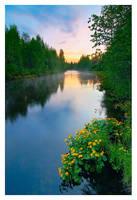 Summer Sunrise by jjuuhhaa