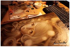 work in progress by ponyania