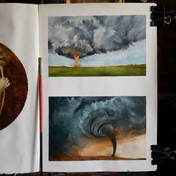 tornado sketches by ponyania