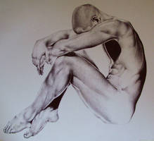 male nude by ponyania