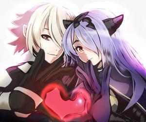 Camilla and Corrin =Commission= by Harukagi