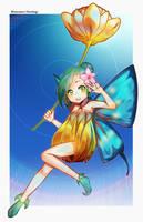Commission : Fairy by Harukagi
