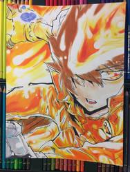Tsunayoshi Sawada from Reborn! by ClarkRankins
