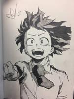 Izuku Midoriya by ClarkRankins