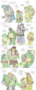 MultyTMNT by LinART