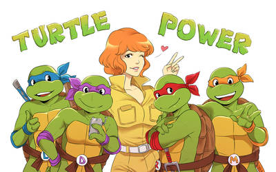 TurtlePower! by LinART