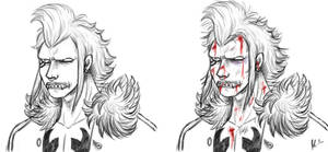 Husband/Wounded Husband by BrutalTomoko