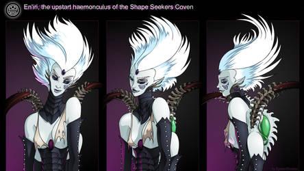 The upstart haemonculus by Epsilon-Shadow