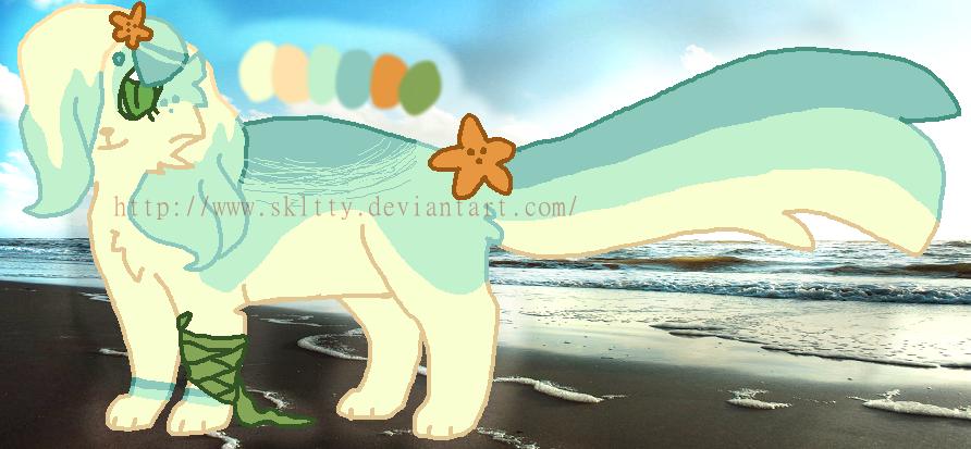 .:CLOSED:. BEACH KITTY AUCTION by SKlTTY