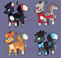 .:CLOSED:. Palette Puppy Adopts by SKlTTY