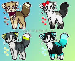 [CLOSED] 50 POINT ADOPTABLES 11 by SKlTTY