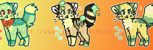 [CLOSED] 50 POINT ADOPTABLES 12 by SKlTTY