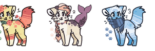 [OPEN] MIXED PRICE KITTEN ADOPTS by SKlTTY