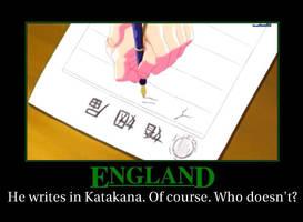 Hetalia Motivational England by Vee-Queen