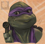 Donatello's calling you by Violette-Aner