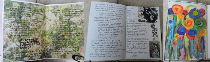World Travel Book Entry done by my grandaunt by Traumfaengerin-Wish