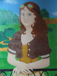 Steampunked Mona Lisa by Traumfaengerin-Wish