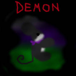 Lonely Demon by polgone