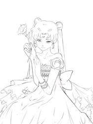 Princess Serenity by kocoum