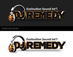 Dj Remedy - Mockup logo by jimmybjorkman