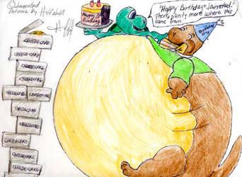 Jaimted Birthday Part 1 by Halfshell