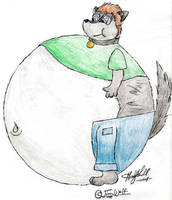 Jim Wolf or Jimbo Wolf by Halfshell