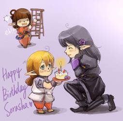 Belated bday gift for Sorasha by lurazeda