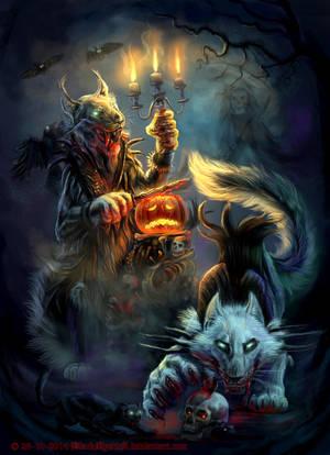 Halloween Madness by FelisGlacialis
