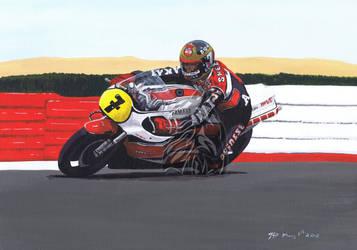 Barry Sheene by Dragonracer85
