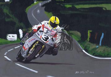 Joey Dunlop by Dragonracer85