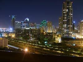 Downtown San Diego by NeitherSparky