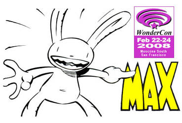 Max's WonderCon Badge '08 by NeitherSparky