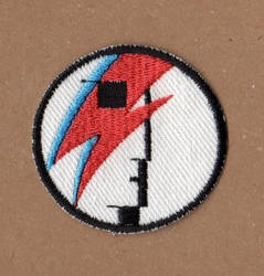 Ziggy Stardust Patch by NeitherSparky