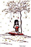 Moonlit Autumn by torngemini