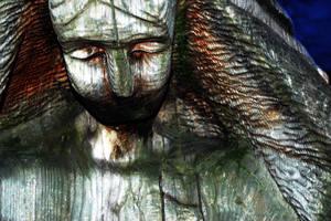 Wooden Bleeding Tears by torngemini
