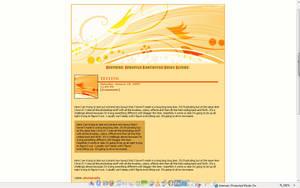 SKIN - Orange Streak by torngemini