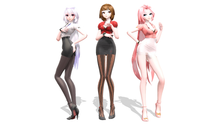 Office Girls Pack by MarsIssey