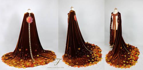 Autumn cape by Fairytas