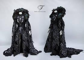 Fallen battle angel front by Fairytas